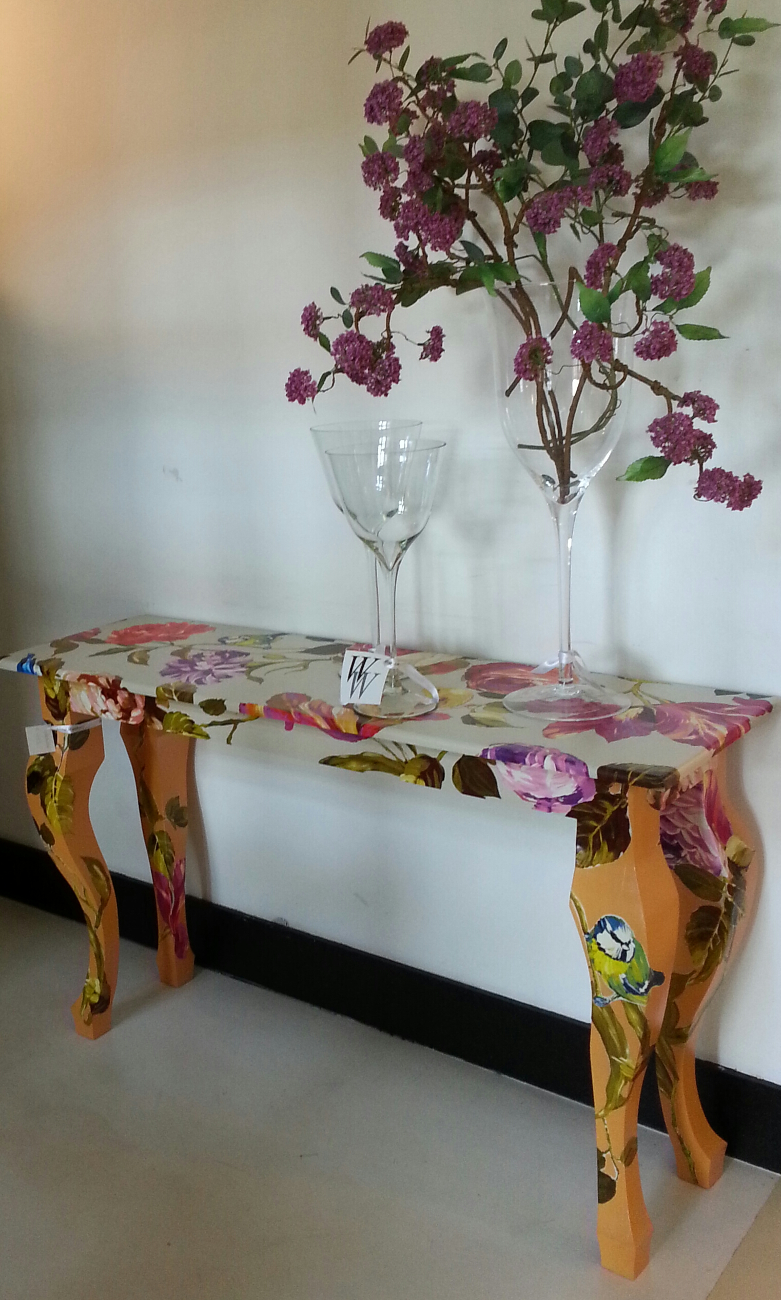 Sidetable 'Country Garden'